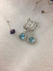 Aquamarine Earrings (GE077)