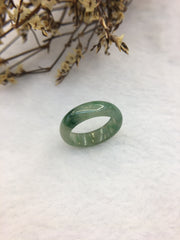 Green Jade Hololith Ring (RI239)