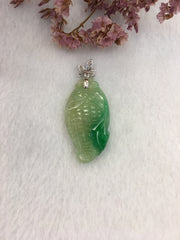 Green Jade Pendant - Sweet Corn (PE106)