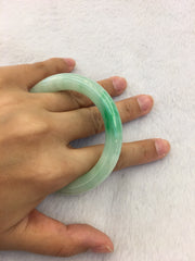 Light Green Bangle - Round (BA085)
