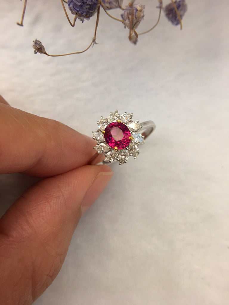 Natural Ruby Ring (Unheated)