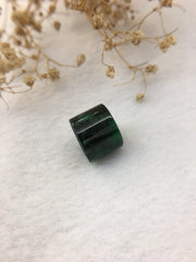 Dark Green Jade Barrel (PE345)