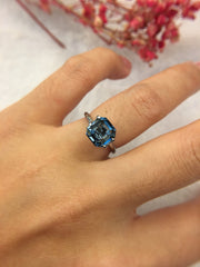 Natural Greyish Blue Spinel (GE035)