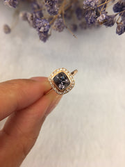 Natural Grey Spinel Ring (GE095)