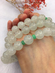 Icy Jade Beads Necklace (NE028)