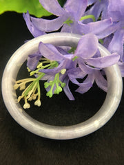 Bluish Lavender Bangle - Oval (BA012)
