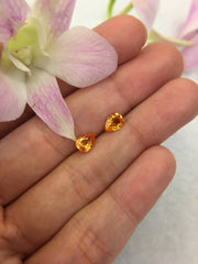 Mandarin Garnet Earrings (GE073)