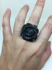 Black Ring - Rose (RI047)