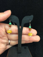 Multi-coloured Earrings - Abacus (EA096)
