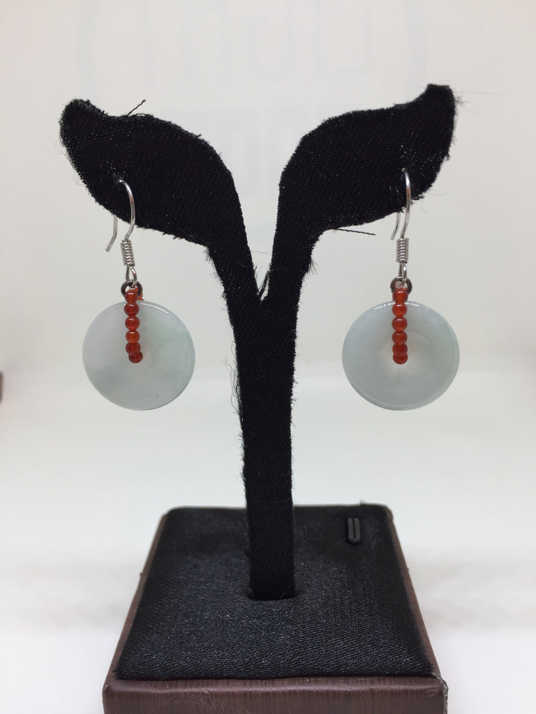 Icy Earrings - Safety Coin (EA176)