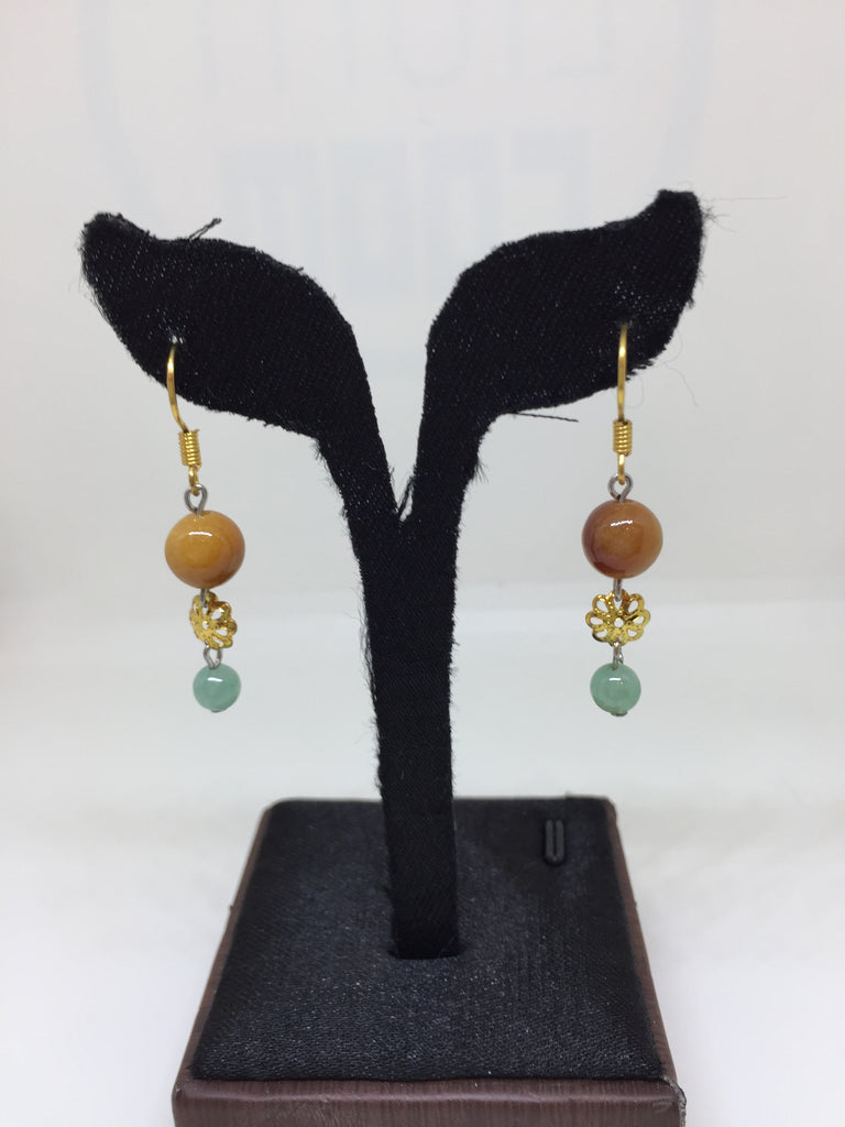 Red & Green Earrings (EA179)