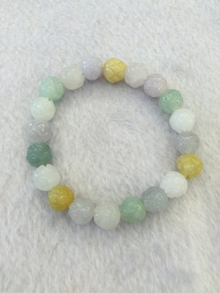 Multi-coloured Bracelet - Lotus (BR022)