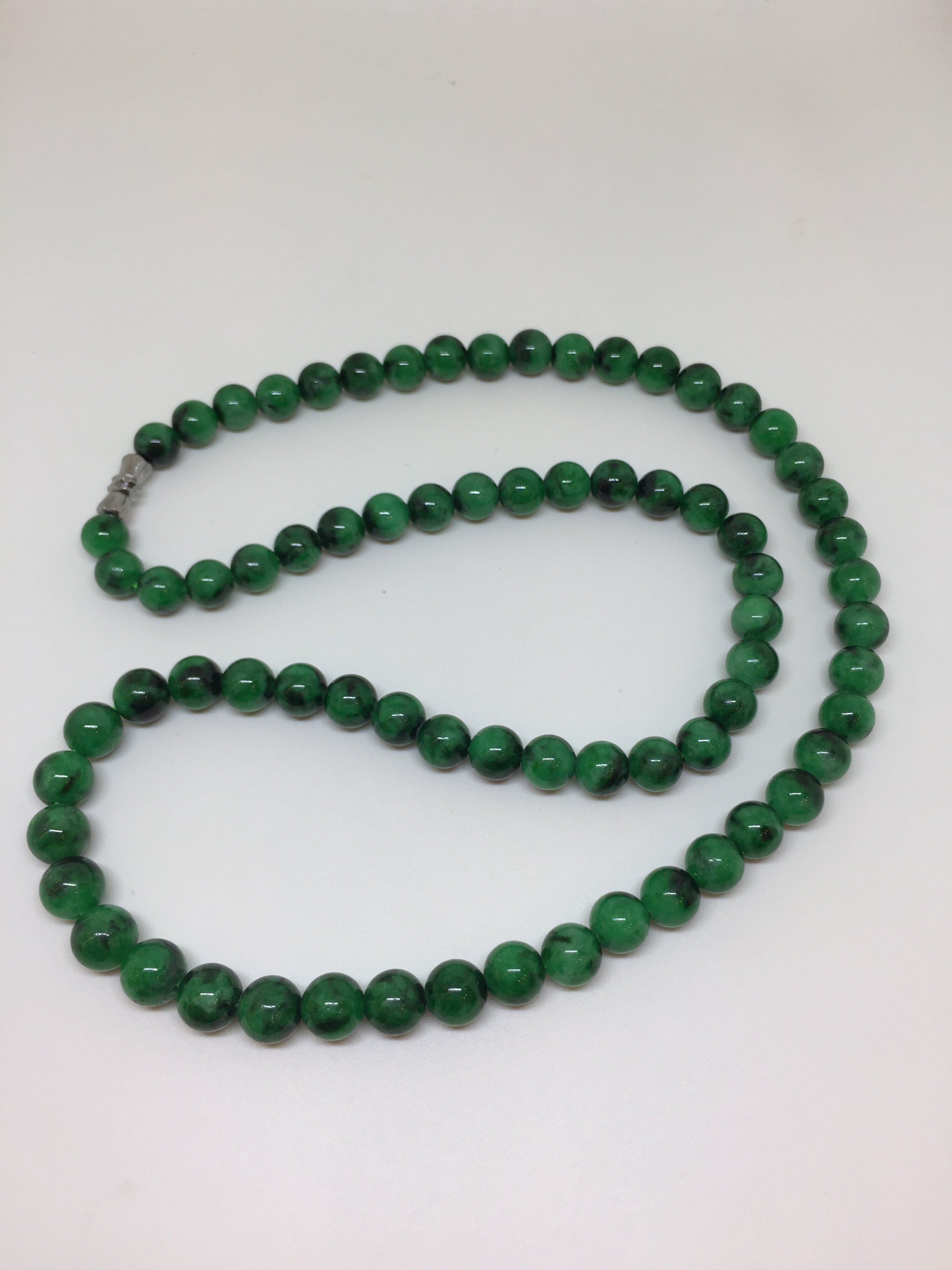 traditional prayer necklace buddhist genuine listing yellow yoga meditation nephrite mala tibetan jade fullxfull il beads