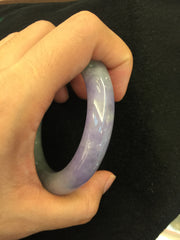 Green With Lavender Bangle - Round (BA060)