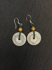 Icy Earrings - Safety Coin (EA101)