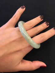 Icy Yellow Bangle - Round (BA011)