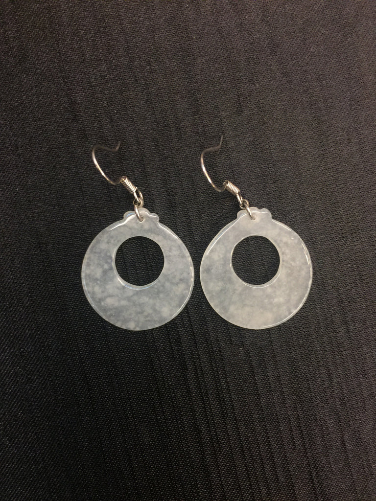 Icy Earrings - Safety Coin (EA056)