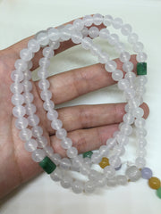 Icy Beads Necklace (NE019)