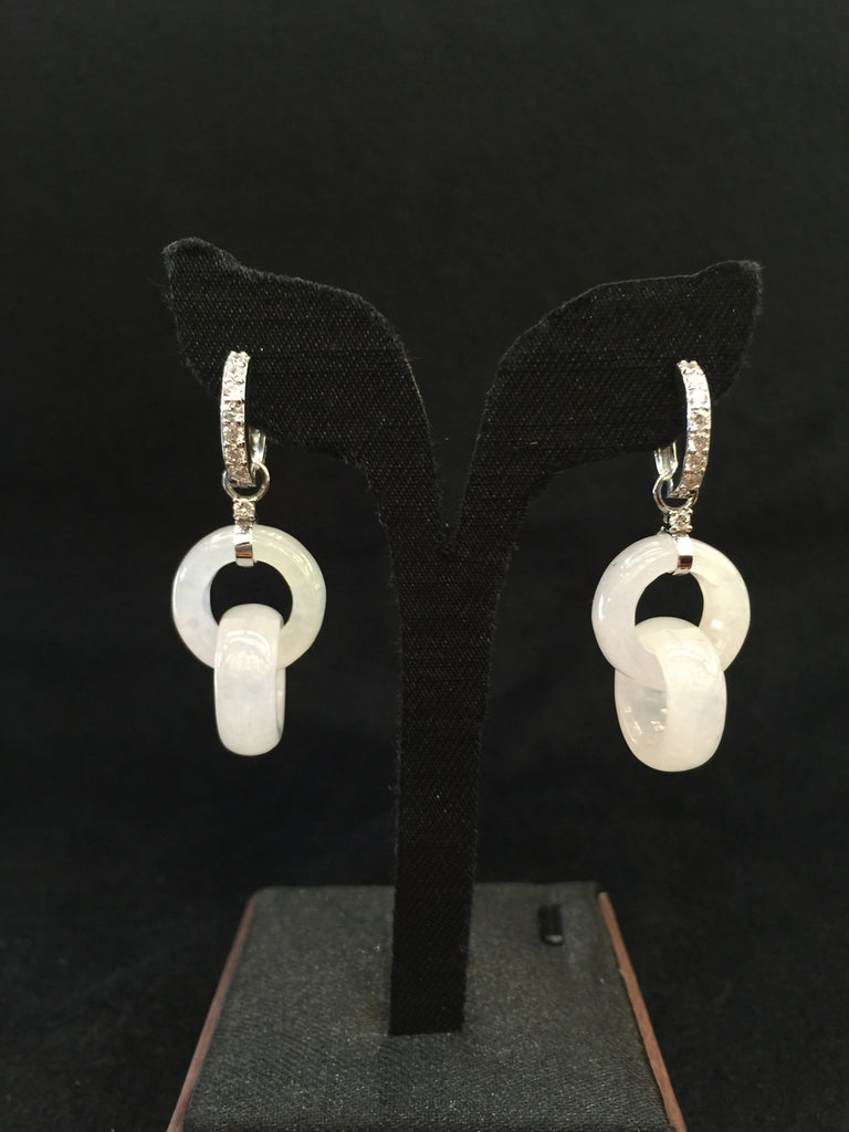 Icy Earrings - Double loops (EA066)