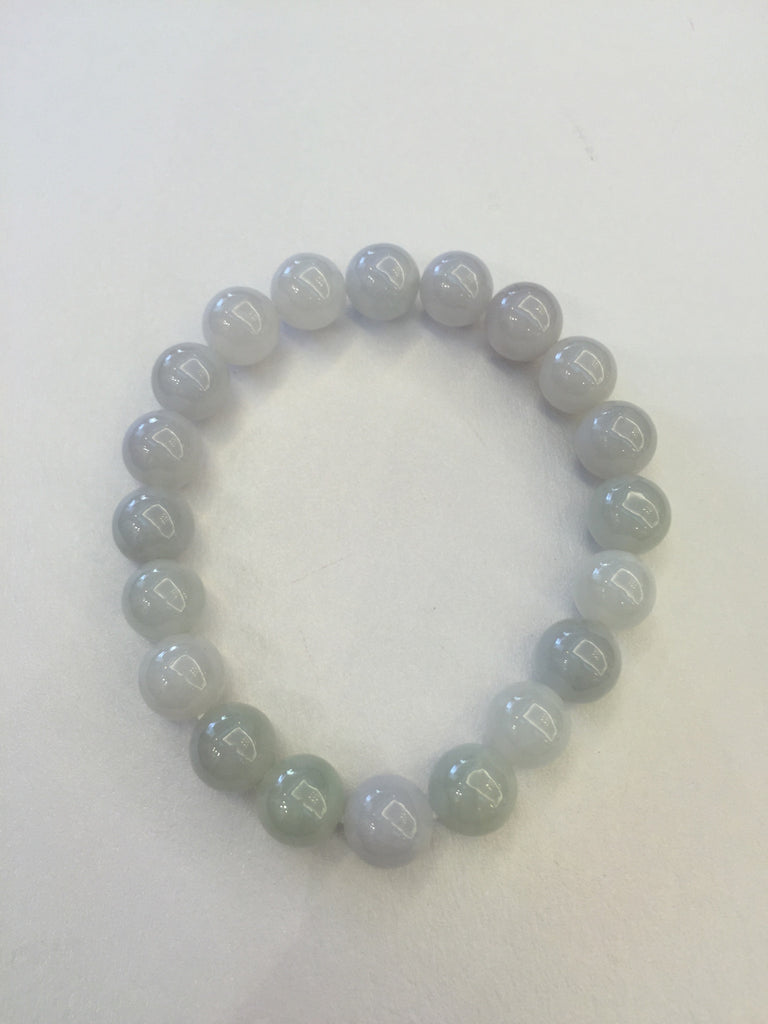 Icy White Bracelet - Beads (BR009)