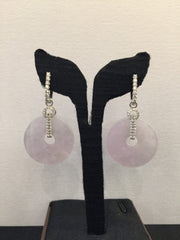 Icy Lavender Earrings/ Pendant (EA071)