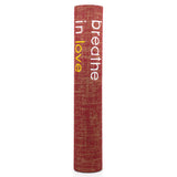 Yoga Mat | Premium Quality Unique Mats breathe in love mat - Affirmats