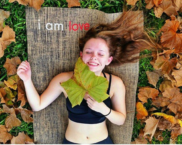 i am love yoga mat