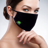 Pure Cotton Reusable Face Mask -  Washable & Breathable Mouth Mask