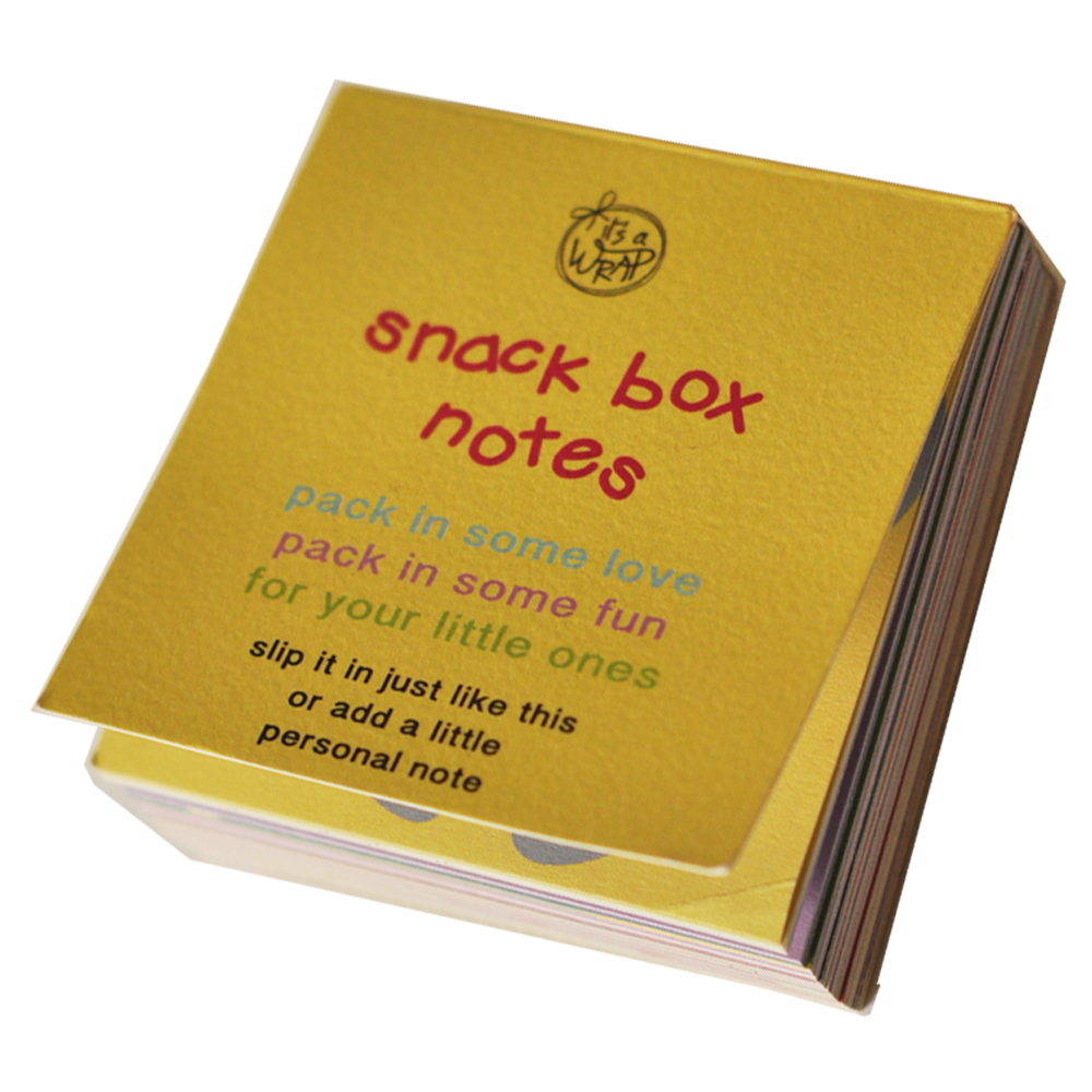 Snack box notes
