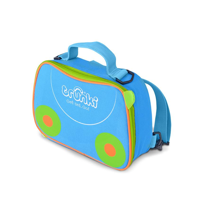 Lunch Bag Backpack-Blue
