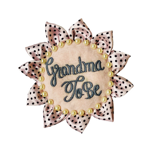 Grandma To be Badge
