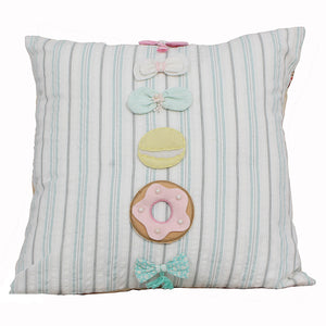"Vintage- Multibow 16"" X 16"" Cushion Cover"
