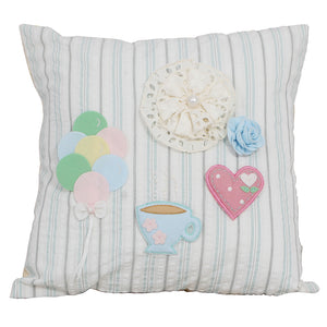 "Vintage- Balloons  16"" X 16"" Cushion Cover"