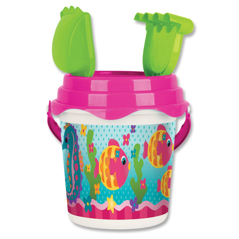Fish-Sea Horse Beach Bucket