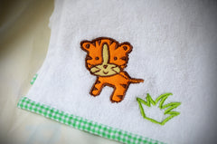Bath Towel Set Jungle Safari