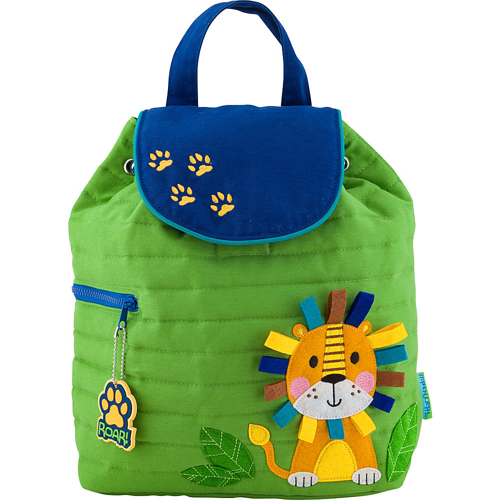 Quilted BackPack Lion
