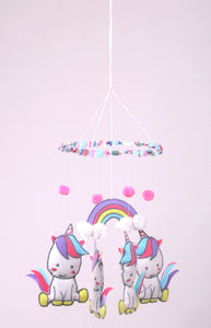 Unicorn -Mobile hanging