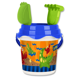 Alligator-Crab Beach Bucket