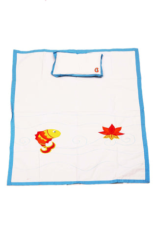 Amazing India Fish Baby Blanket