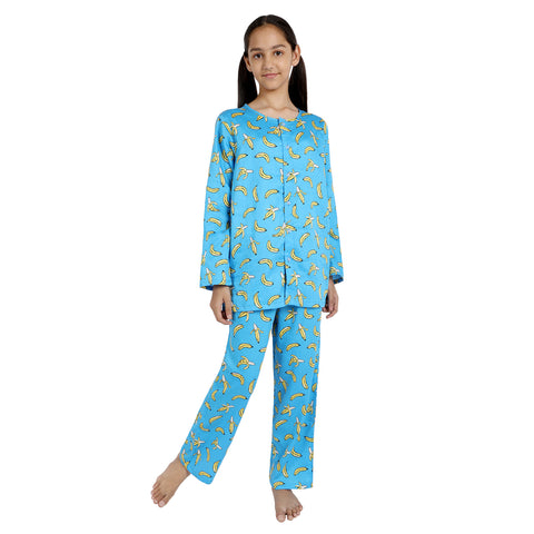 Banana Print Pure-Cotton Nightsuit