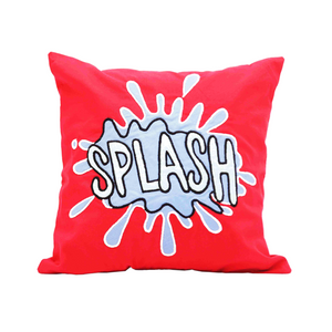 "Comic Connection Splash 12"" x 12"" Cushion Cover"