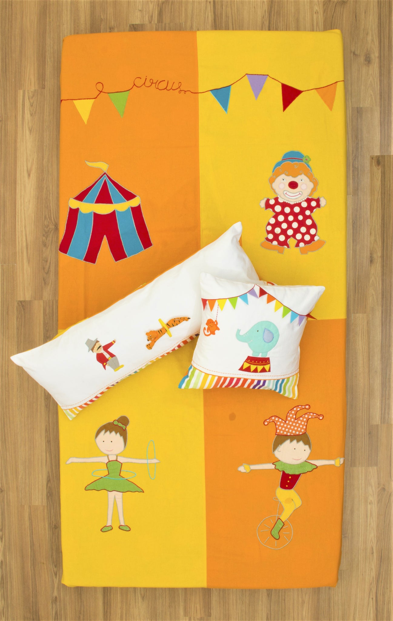 Circus Bed Cover Single