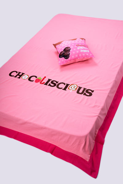 Chocolate Bed cover (Single)