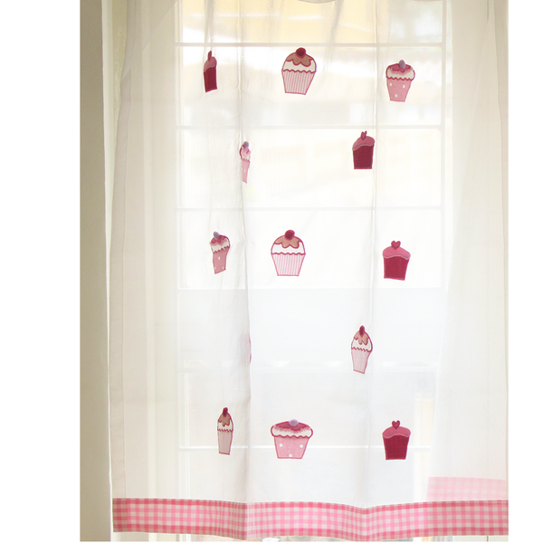 Cupcake -Sheer Curtains