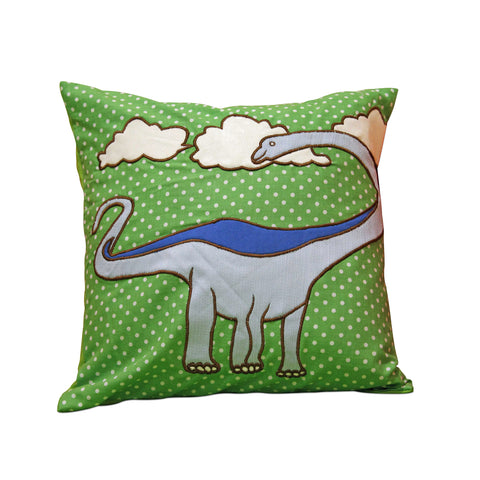 "Dinosaur 12"" x 12"" Cushion Cover"