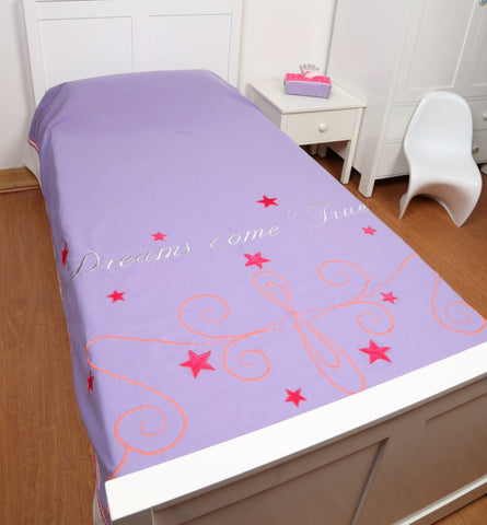 Simply Enchanted - Purple Collection Bed Cover Single