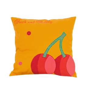 "Fruit Blast Cherry 12"" x 12"" Cushion  Cover"