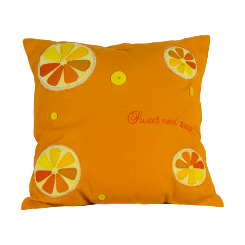 Fruit Blast Lime Cushion Cover