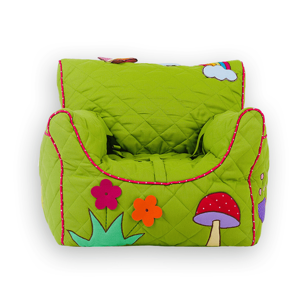 Flower garden Quilted - BeanChair Cover (Small)