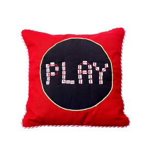 "Gaming 12"" x 12"" Cushion Cover (Play)"